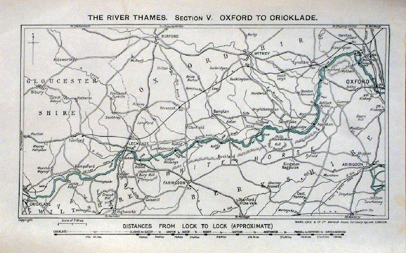 Map Of Uk Rivers And Canals.Antique River Canal Maps Of Uk General