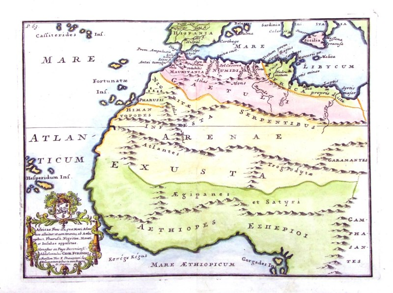 Antique Maps of North Africa