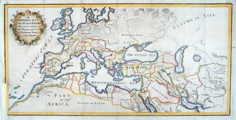 Antique Maps Of Europe Continent