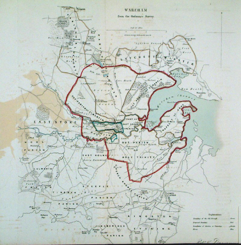 Page Map Site: Antique Town Plans Of UK (S